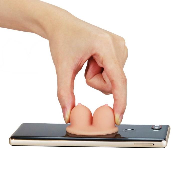 Suport Smartphone Universal Boobie Stand Holder