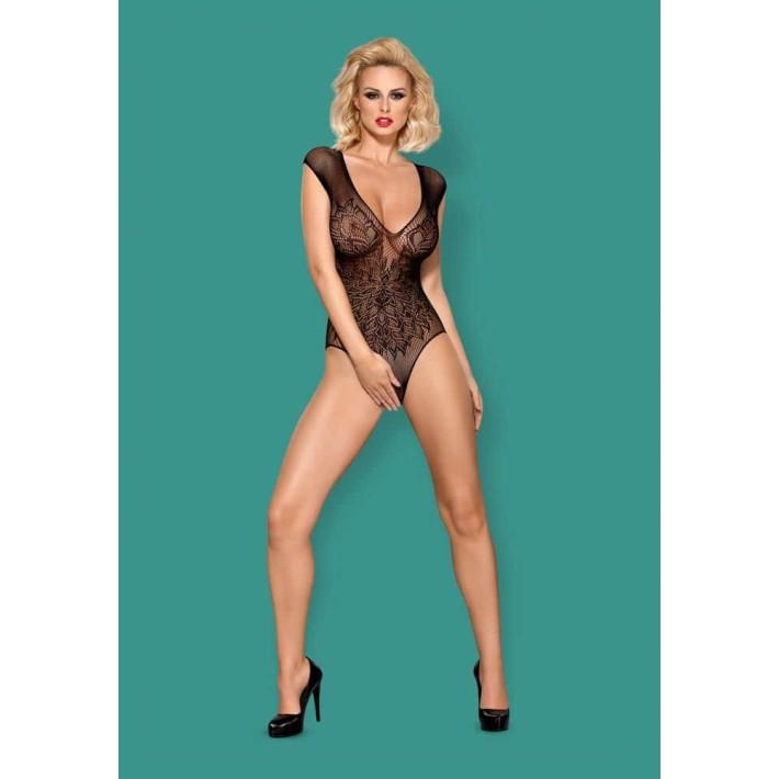 Body Cu Dantela Decupat Sexy S/m/l, Xl/2xl
