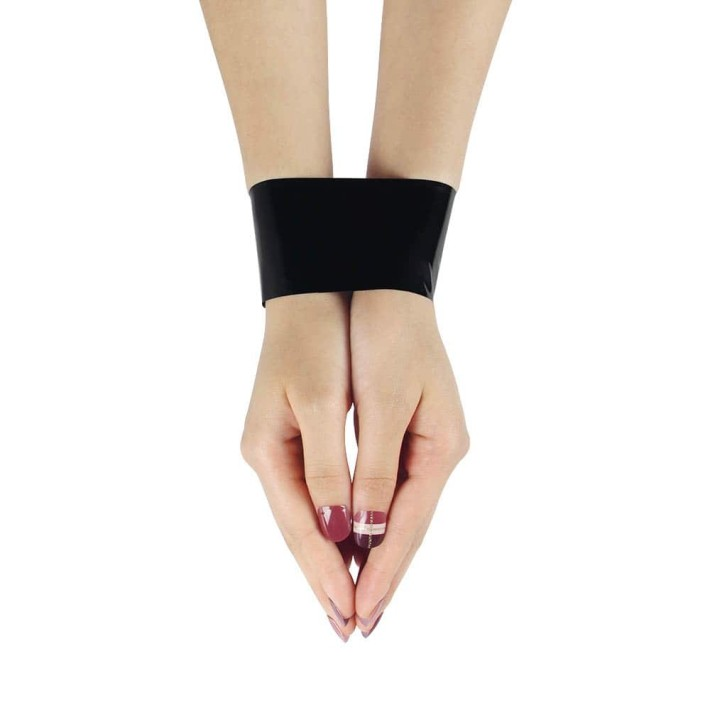 Banda Adeziva Non-lipicioasa Pentru Jocuri Erotice, Negru, 15 M