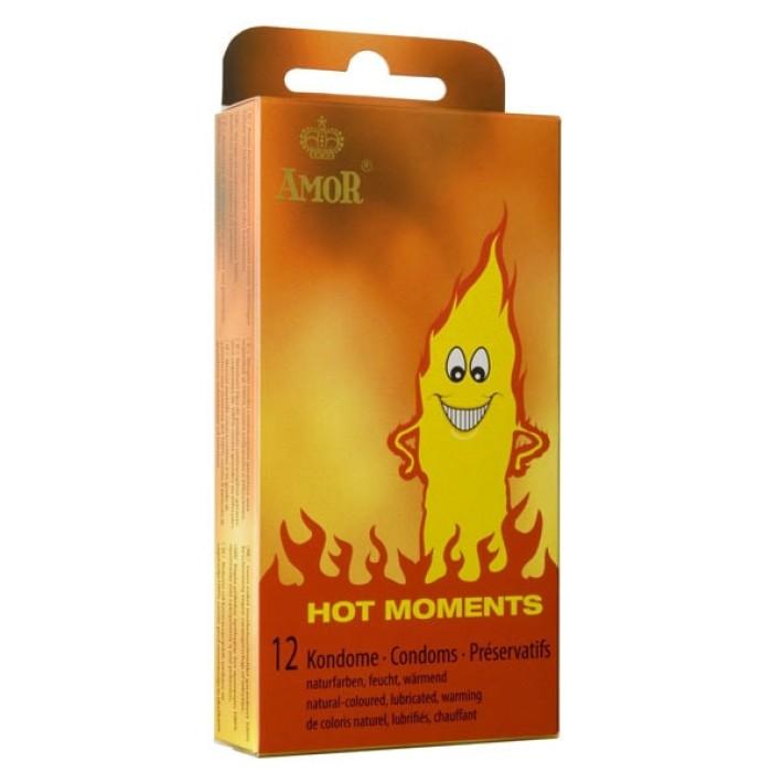 Prezervative Amor Hot Moments, 12 Bucati