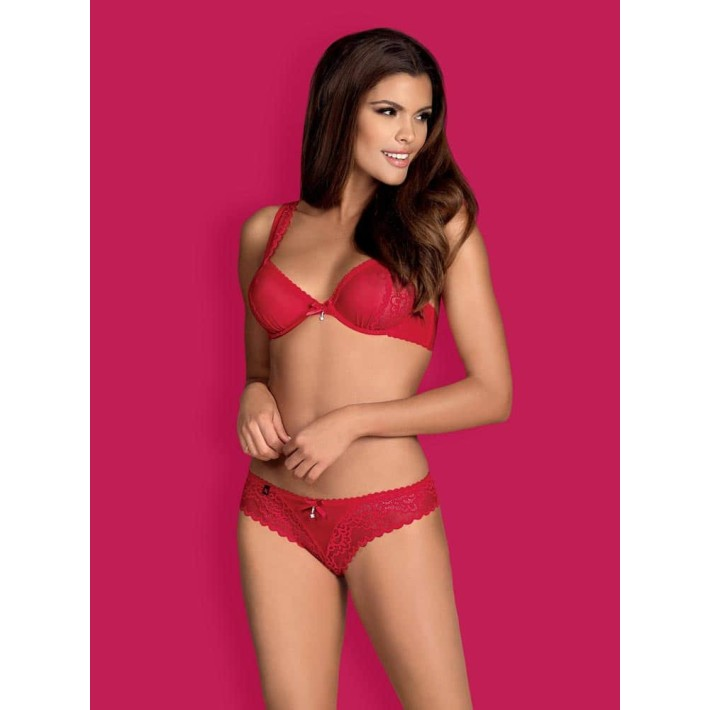 Set Sexy Rougebelle - Rosu L/xl, S-m