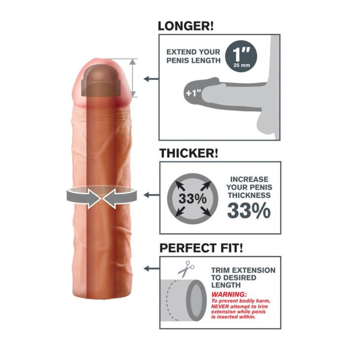 Manson Penis Perfect 1 Extension, +2.5 Cm