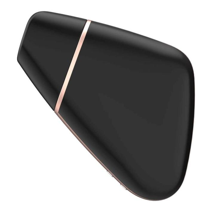 Stimulator Clitoridian Love Triangle (negru)