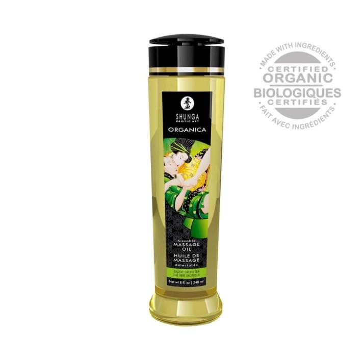 Ulei Pentru Masaj Organica Green Tea, 240 Ml