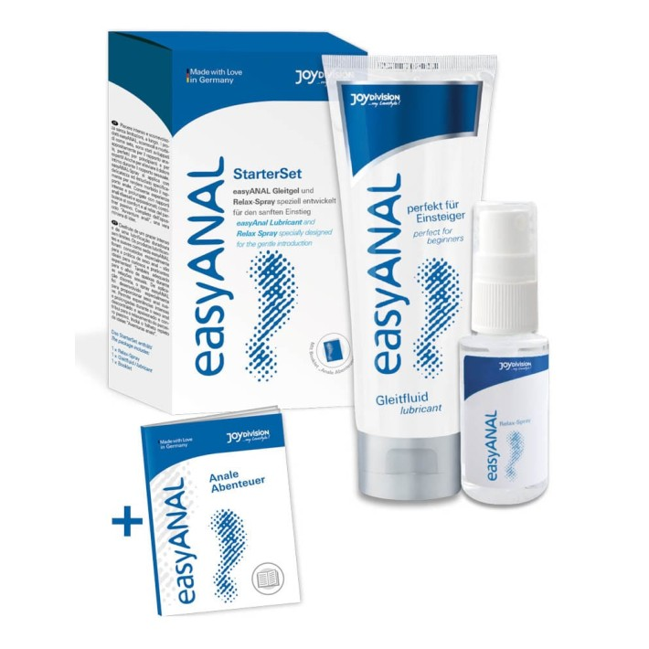 Set Spray Anal Relax, 30 Ml & Lubrifiant Anal, 80 Ml