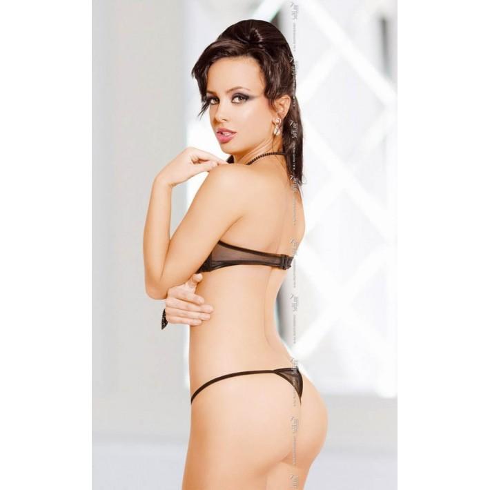 Chilotei Decupati Sexy Cu Dantela Sasha, Negru, S/m