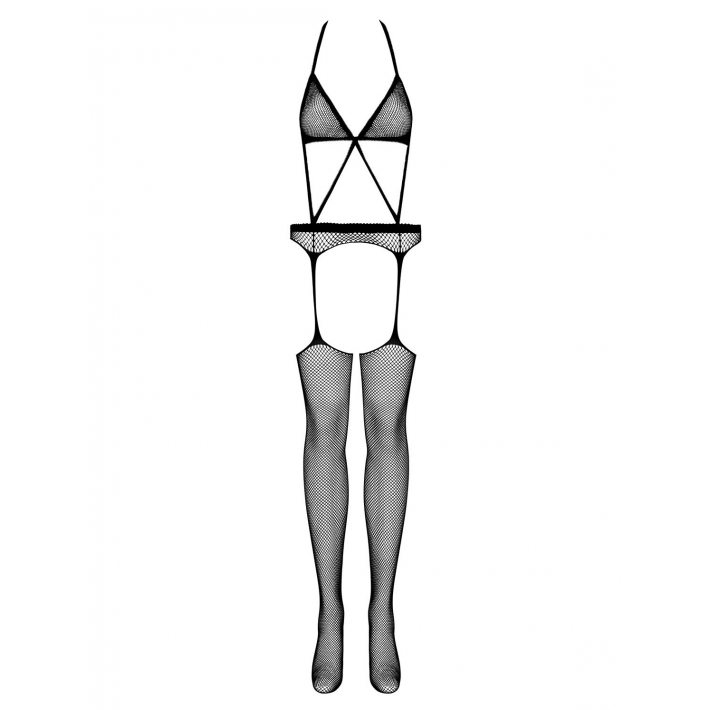 Catsuit / Body Stockings N108 - Negru S/m/l