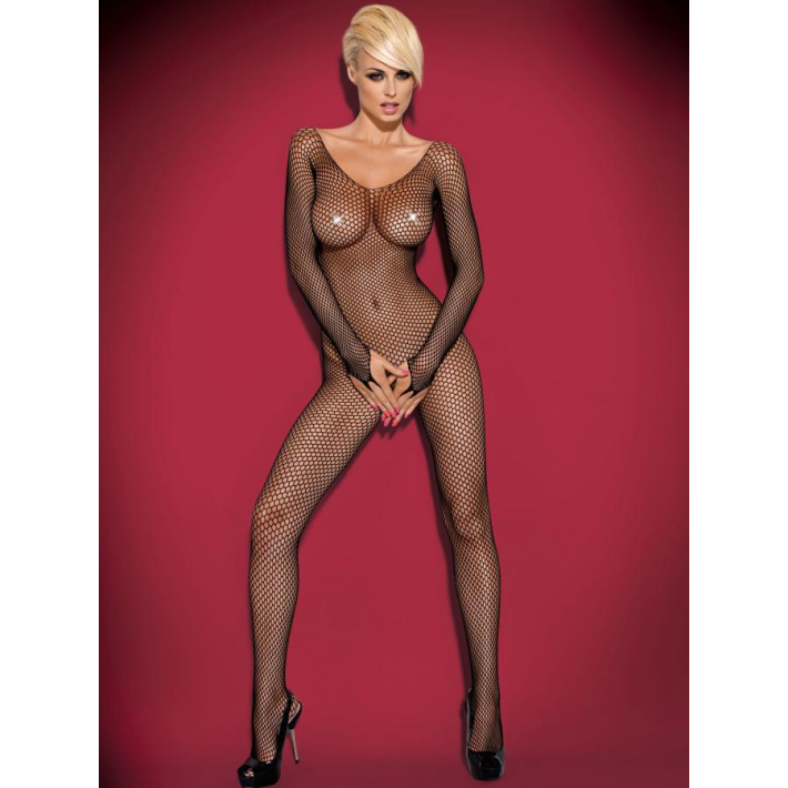 Catsuit / Body Stockings N109 - Negru S/m/l