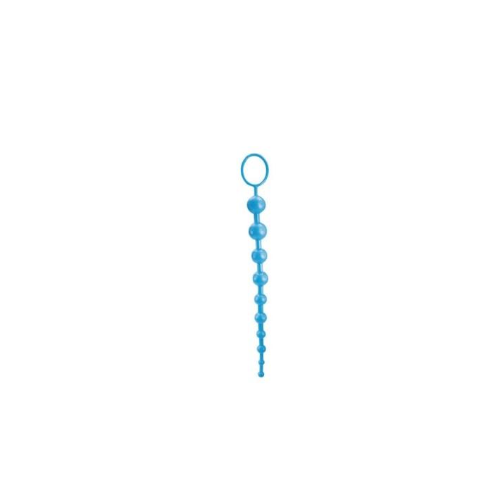 Bile Anale Super 10 Beads, Albastru