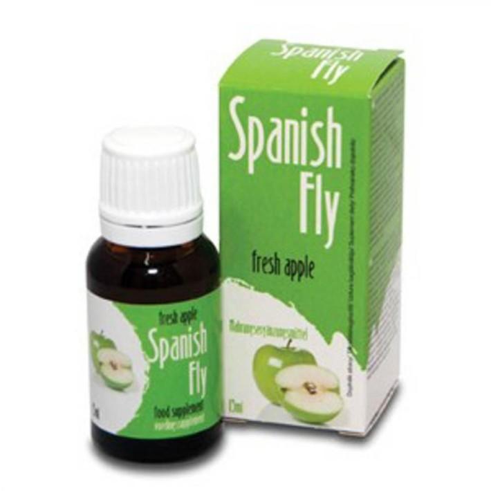 Afrodiziac Spanish Drops Fresh Apple, 15 Ml