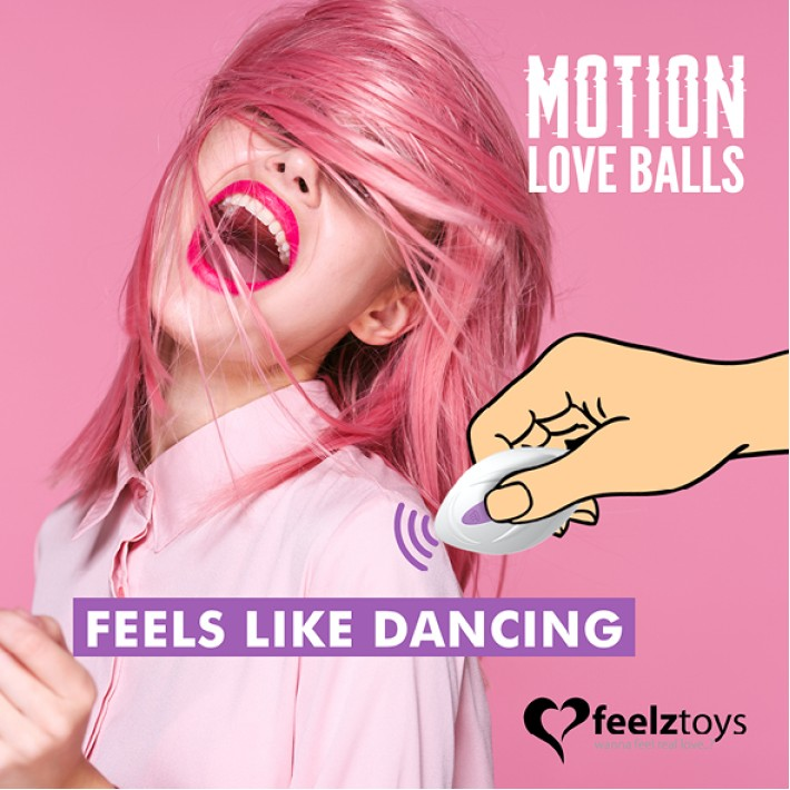 Bile Jucause Motion Love Cu Telecomanda