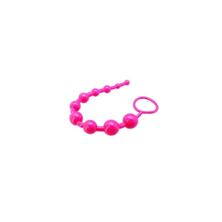 Bile Anale Super 10 Beads, Roz