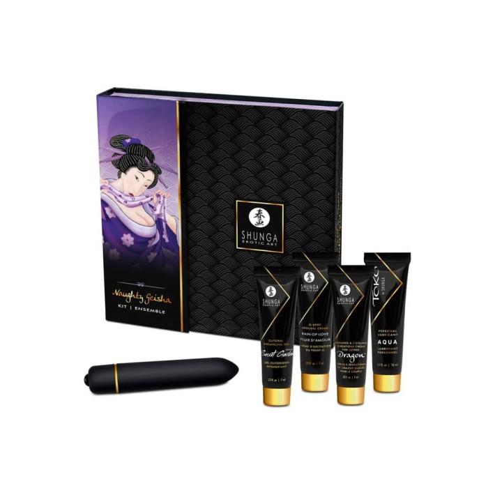 Set Cadou Stimulente Erotice Naughty Geishas
