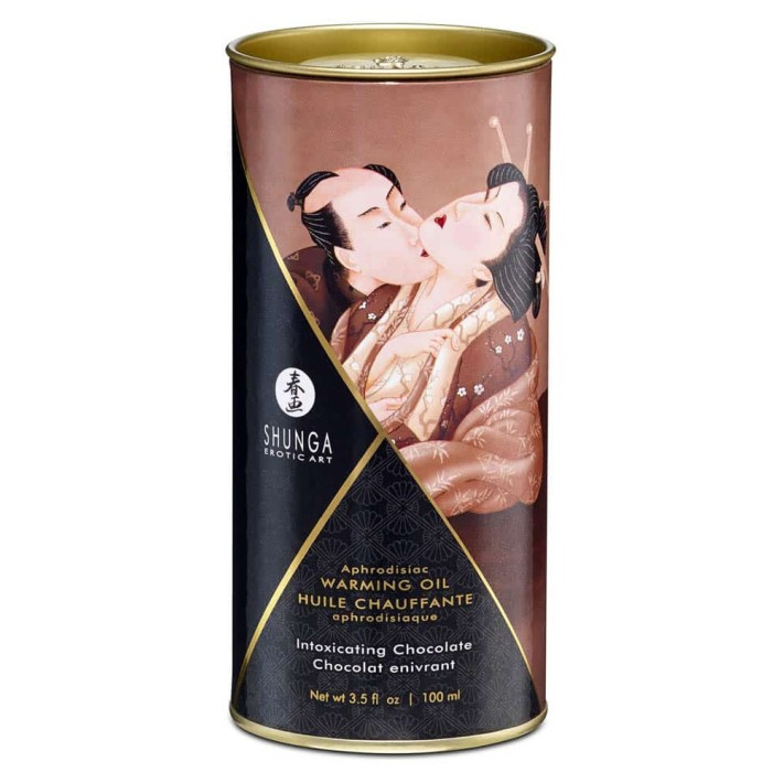 Ulei Afrodiziac Cu Efect De Caldura Intoxicating Chocolate, 100 Ml