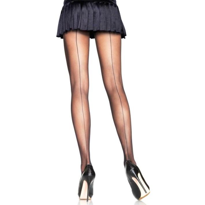 Ciorapi Sexy Cu Tiv Decorativ, Negru, Marime Universala