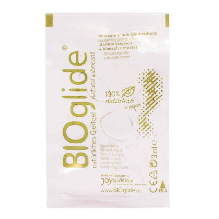 Lubrifiant  Bioglide Portion Packs, 3 Ml