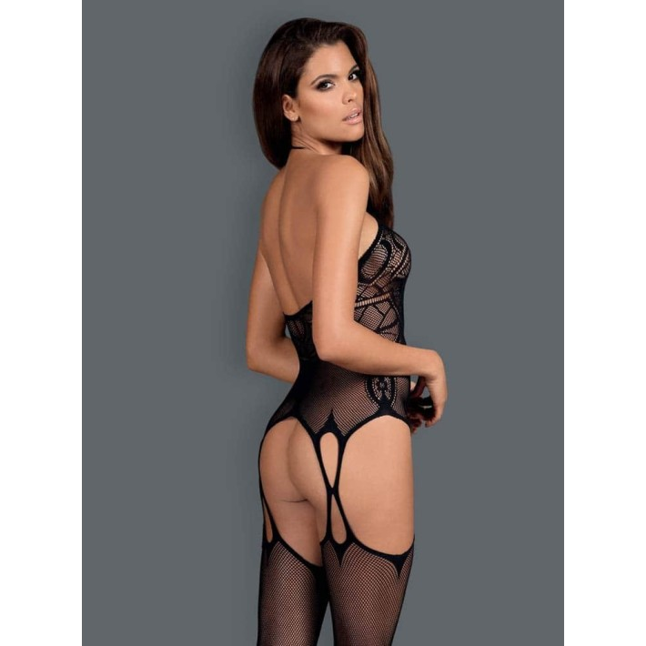 Catsuit / Body Stockings G316 - Negru, S/l