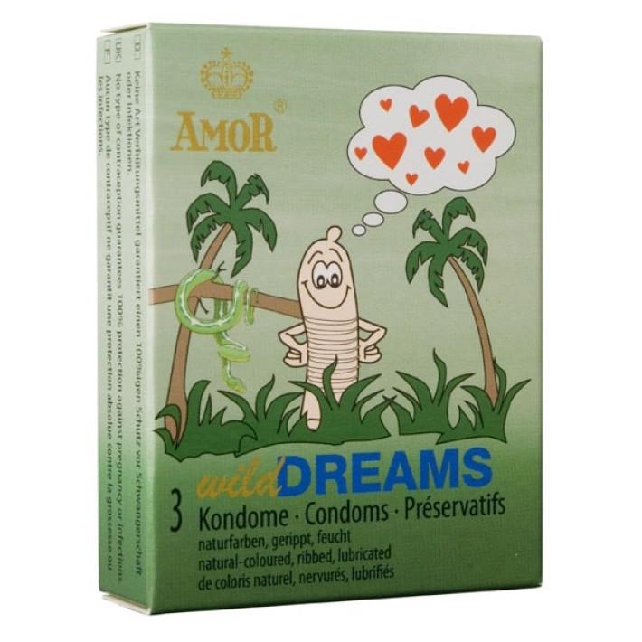 Prezervative Amor Wild Dreams 3 Buc