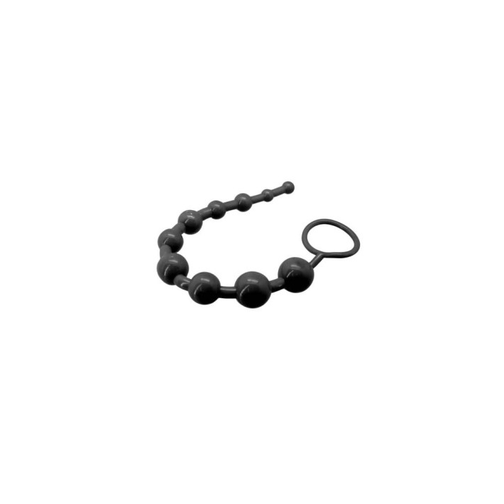 Bile Anale Super 10 Beads, Negru