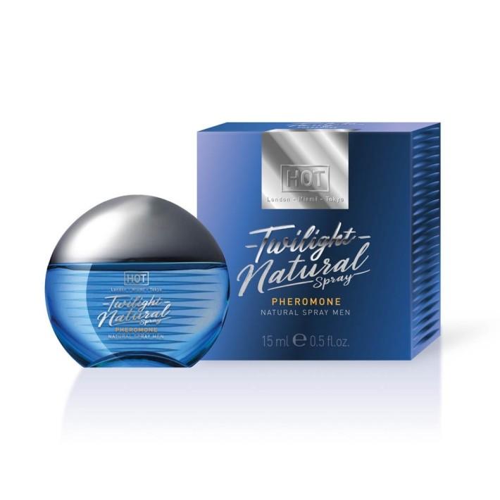 Parfum Cu Feromoni Pentru Barbati Twilight Natural Spray, 15 Ml