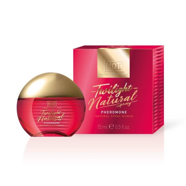 Parfum Cu Feromoni Pentru Femei Twilight Natural Spray, 15 Ml