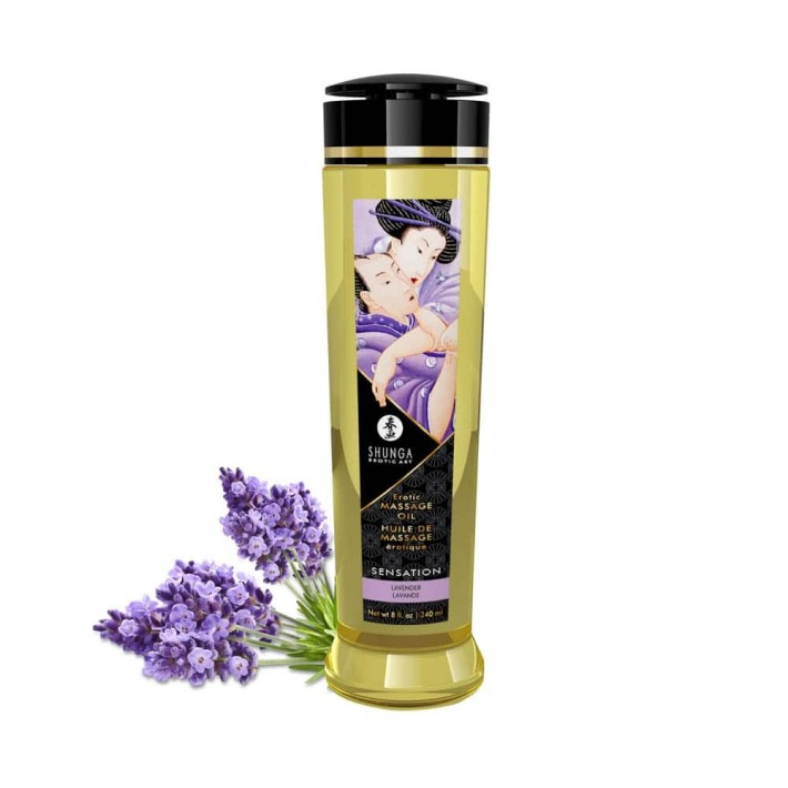 Ulei Pentru Masaj Erotic Lavender, 240 Ml