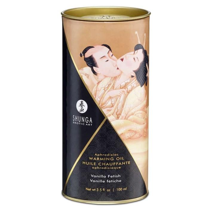 Ulei Afrodiziac Cu Efect De Caldura Vanilla, 100 Ml