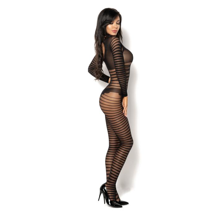 Catsuit / Body Stockings Ximena - Negru, S/l