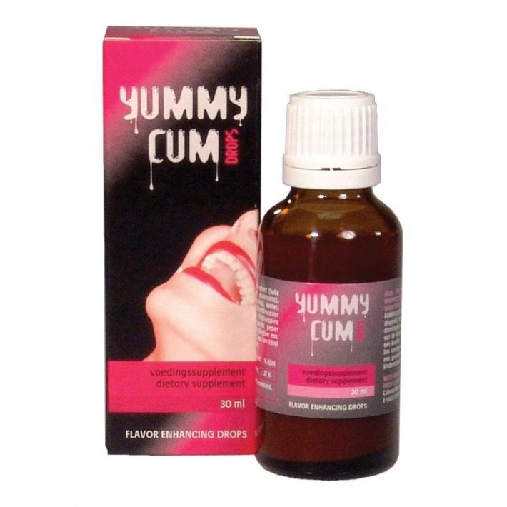 Solutie Pentru Imbunatatirea Aromei Spermei Yummy Cum Drops, 30 Ml