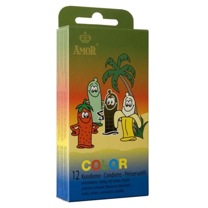 Prezervative Amor Color 12 Bucati