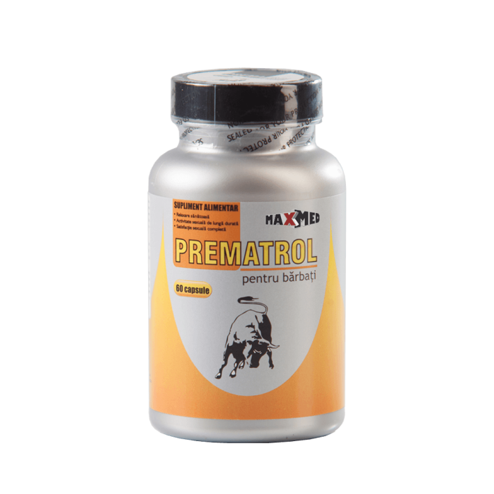 Prematrol (60 Capsule) - Pastile Pentru Erectii Puternice Si De Lunga Durata