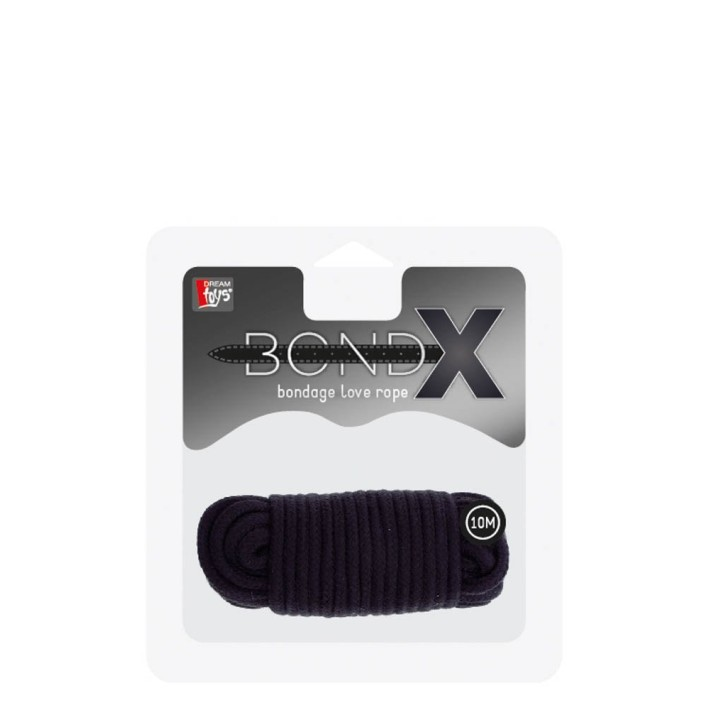 Franghie Bondx Love Rope, Negru, 10 M
