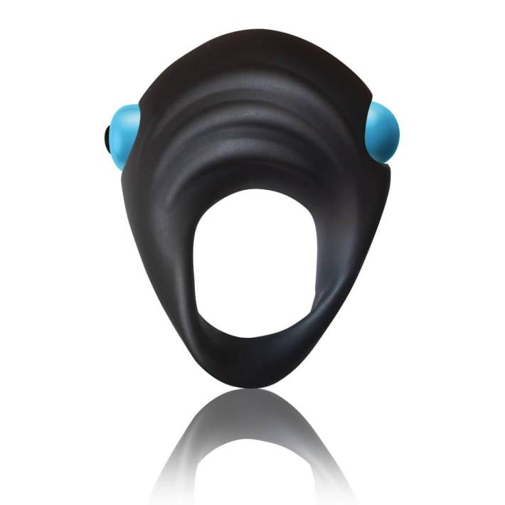 Set Dop Anal Cu Vibratii Si Inel Penis Ibex, Negru+albastru