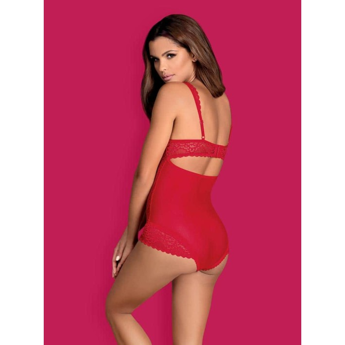 Body Rougebelle - Rosu L/xl, S-m