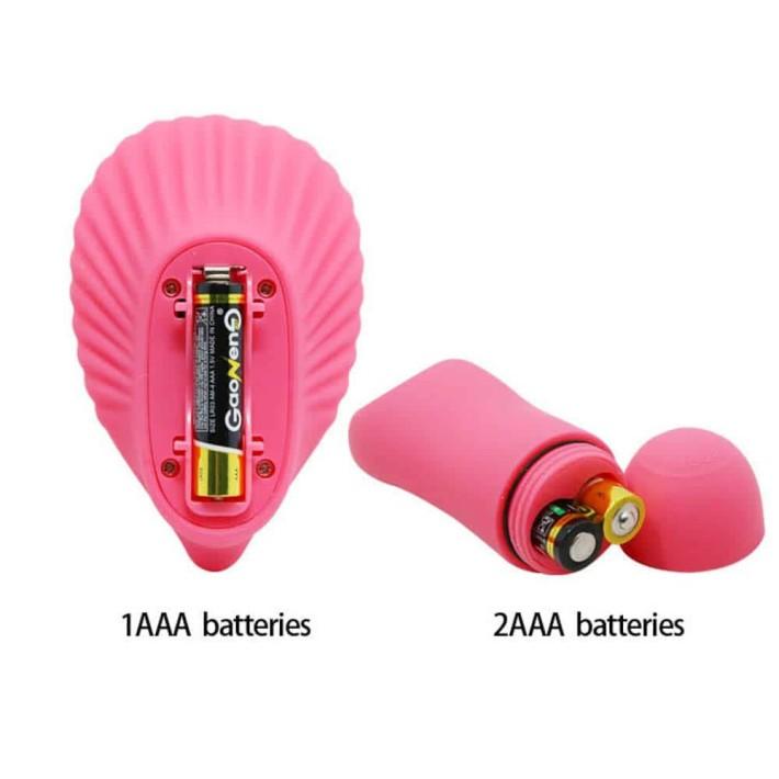 Vibrator Fantezie Shell Stimulator Cu Telecomanda Wireless