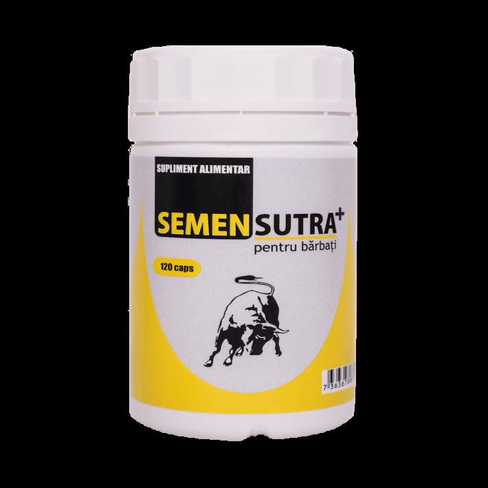 Semensutra+ (120 Capsule) - Pastile Pentru Imbunatatirea Calitatii Spermei