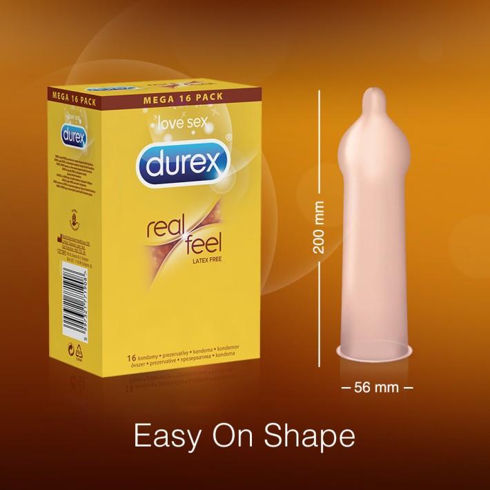 Prezervative Durex Real Feel 16 Buc