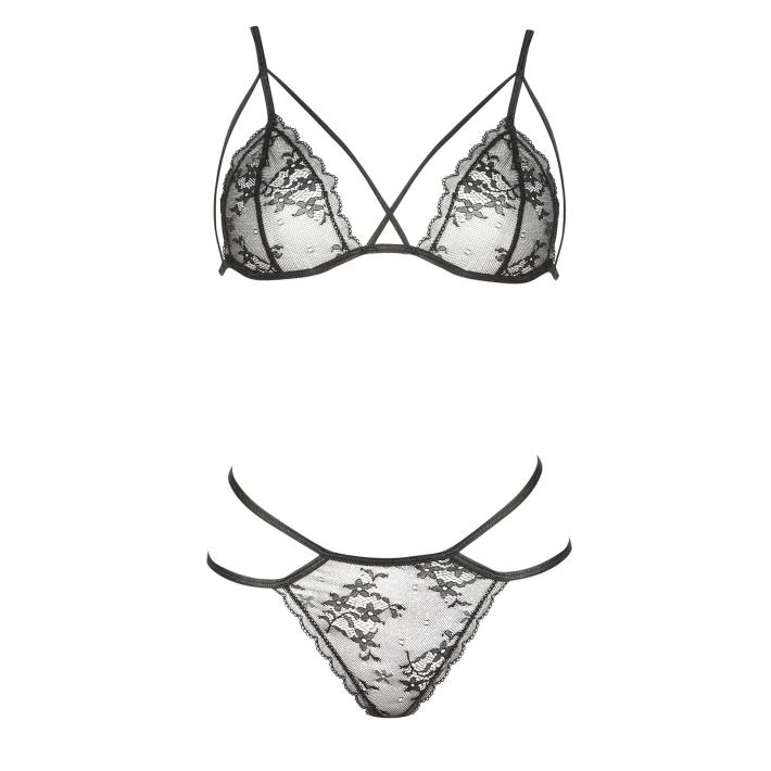 Set Sexy Aryana - Negru L/xl, S-m