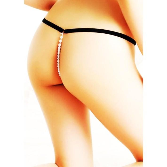 Bikini Cu Snur De Perle In Spate