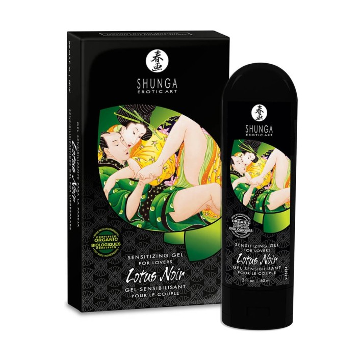 Gel Stimulent Shunga Lotus Noir, 60 Ml