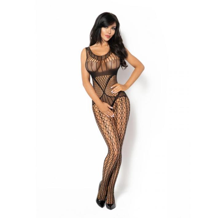 Catsuit / Body Stockings Juliya - Negru, S/l