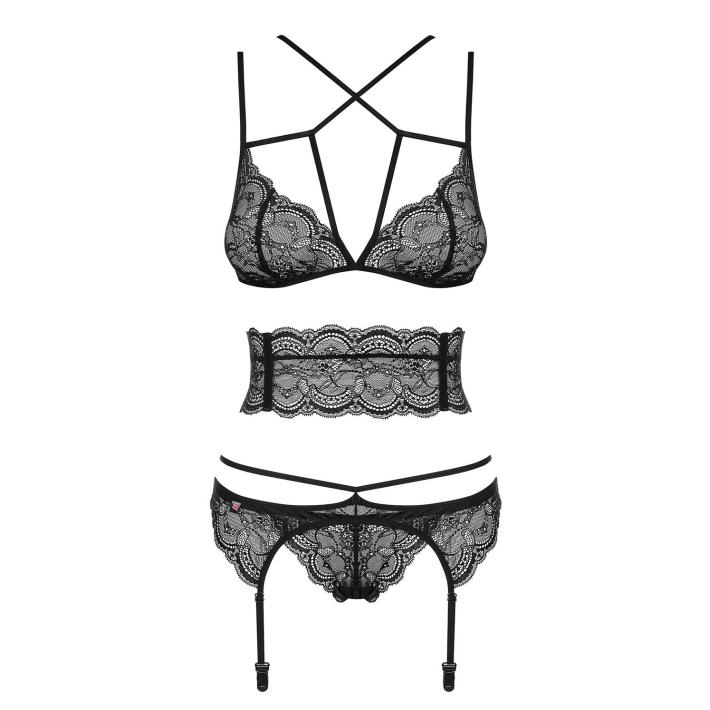 Set Sexy Frivolla - Negru L/xl, S-m