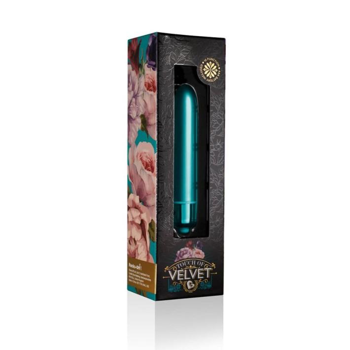 Vibrator Clasic Touch Of Velvet Peacock Petals