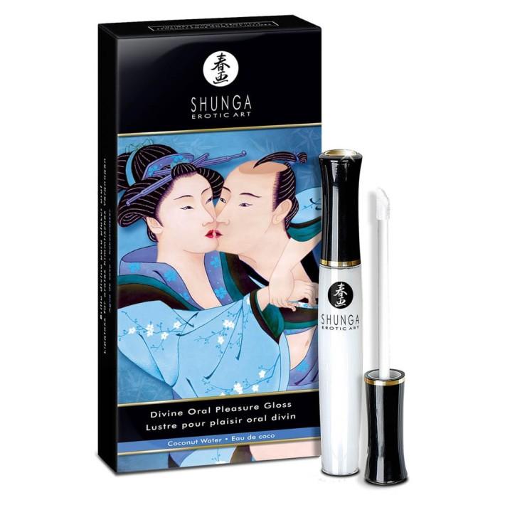 Balsam De Buze Stimulant Divine Oral Pleasure, Cocos, 10 Ml
