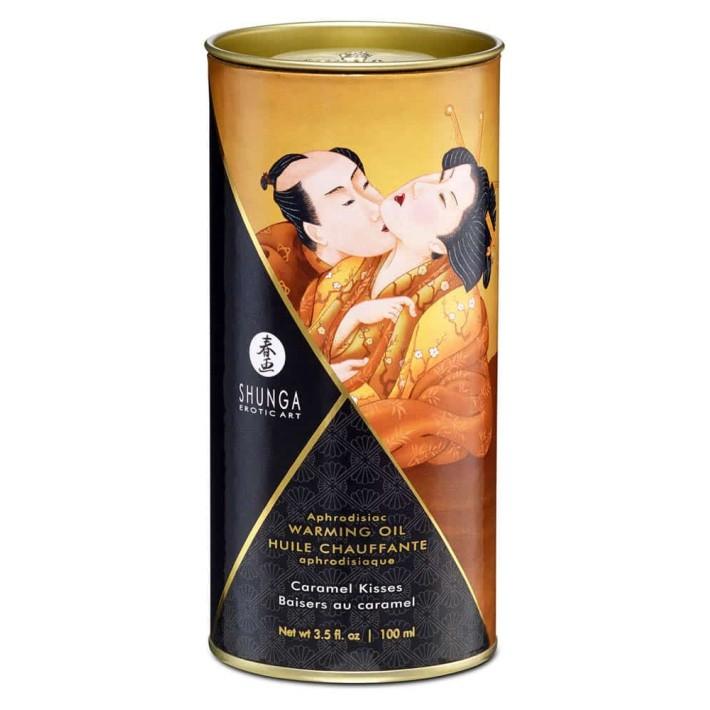 Ulei Afrodiziac Cu Efect De Caldura Caramel Kisses, 100 Ml