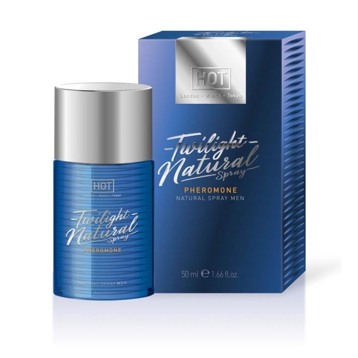 Parfum Cu Feromoni Pentru Barbati Twilight Natural Spray, 50 Ml