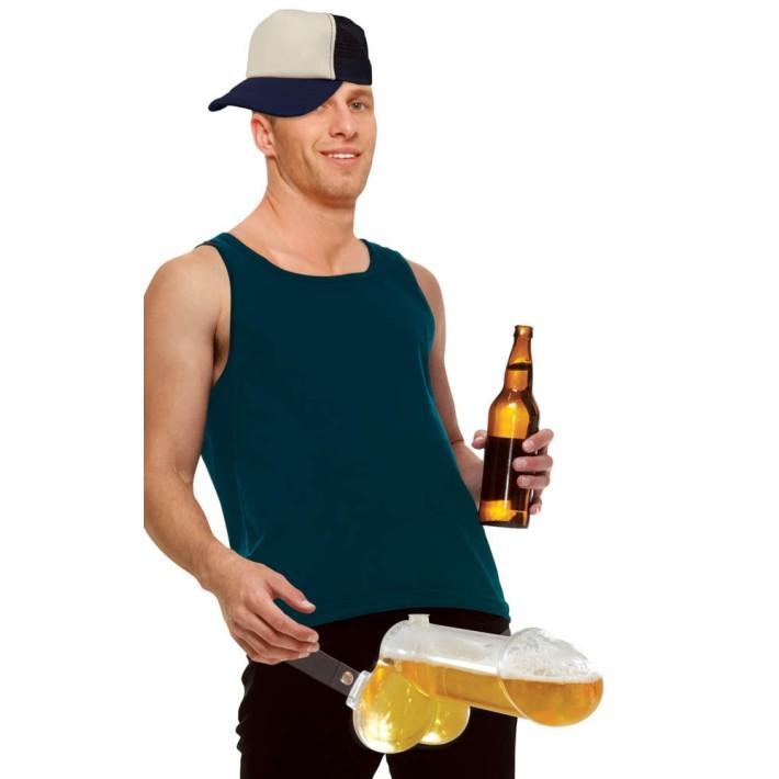Accesoriu Petreceri Pentru Adulti Strap-on Brew Ballz
