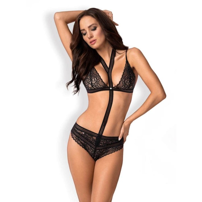Body Sexy Cu Dantela Ailay L/xl, S-m