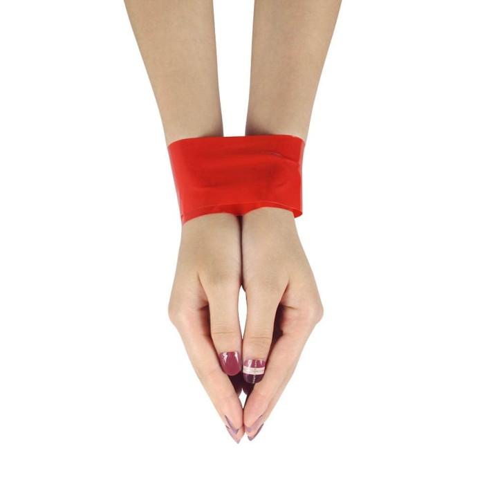 Banda Adeziva Non-lipicioasa Pentru Jocuri Erotice, Rosu, 15 M