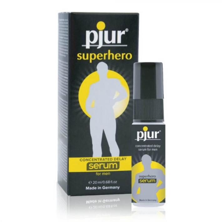 Spray Contra Ejacularii Precoce Superhero Concentrated Delay Serum, 20 Ml